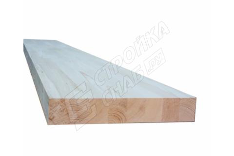 Тетива из ясеня для лестниц цельноламельная сорт ЭКСТРА  40 мм * 300 мм * 1000 мм