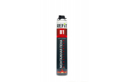 Профессиональная огнестойкая пена REFIT