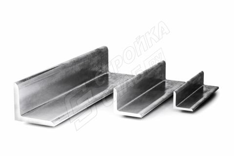 Уголок стальной равнополочный  25 * 25 * 3,5 мм
