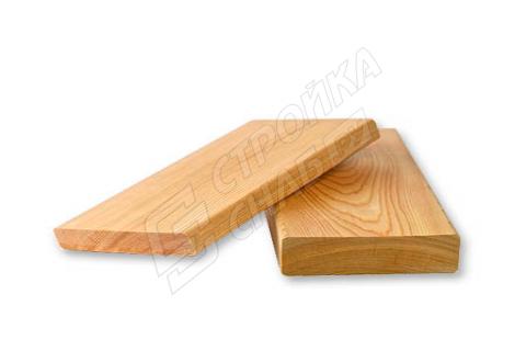 Доска строганная из лиственницы 20 мм * 90 мм * 6000 мм