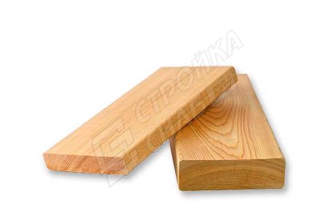 Доска строганная из лиственницы 45 мм * 140 мм * 6000 мм