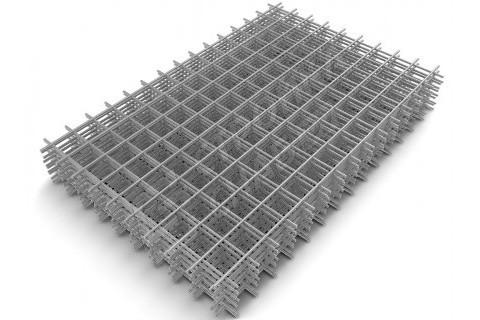 Сварная стальная сетка 200 x 200 x 5 мм