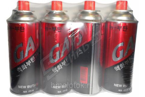 Газовый баллончик 220 мл (28 шт в упаковке)
