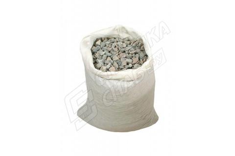Щебень гравийный фракция 10-20 мм в мешках 40кг
