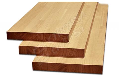Мебельный щит из лиственницы 20 мм * 400 мм * 1000 мм / Сращенный / Экстра